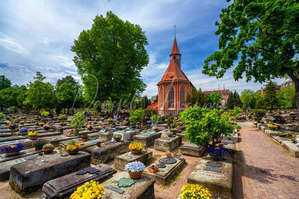 Johannisfriedhof | Der Johannisfriedhof in Nürnberg