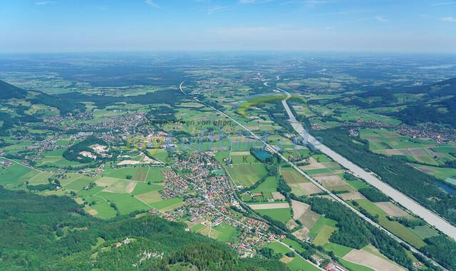 luftbild-inntal-nussdorf-brannenburg-bruno-kapeller-21 | Luftaufnahme vom bayrischen Inntal zwischen Heuberg und Wendelstein an der Grenze zu Tirol.