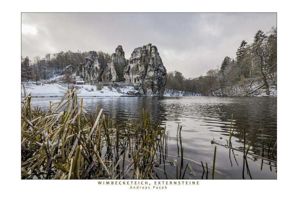 Wimbecketeich, Externsteine | Die Serie 'Deutschlands Landschaften' zeigt die schönsten und wildesten deutschen Landschaften.