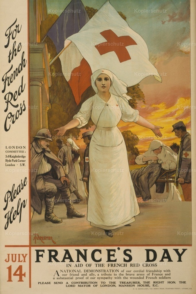 Forestier_ A. (1854-1930) - War Poster 1915 - France_s Day Red Cross