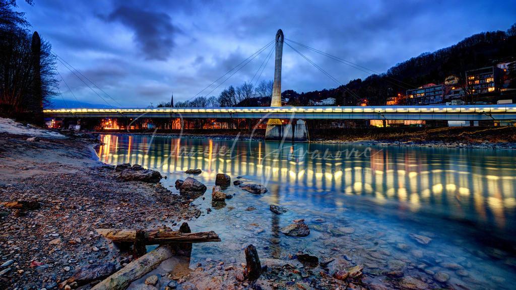 Hungerburgbahn | Zaha Hadid Brücke über den Inn der neuen Hungerburgbahn