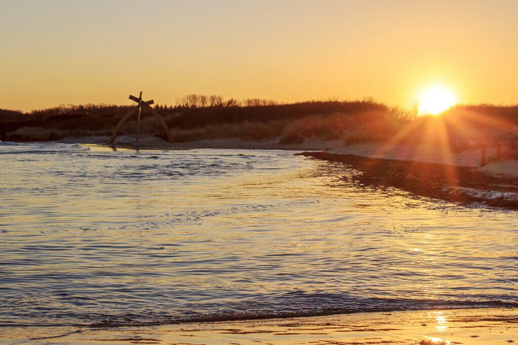 Strand in Damp | Sonnenuntergang in Damp