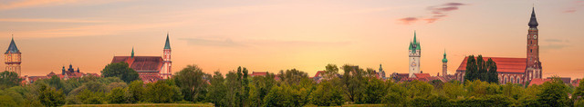 Skyline Straubing (Megapanorama)