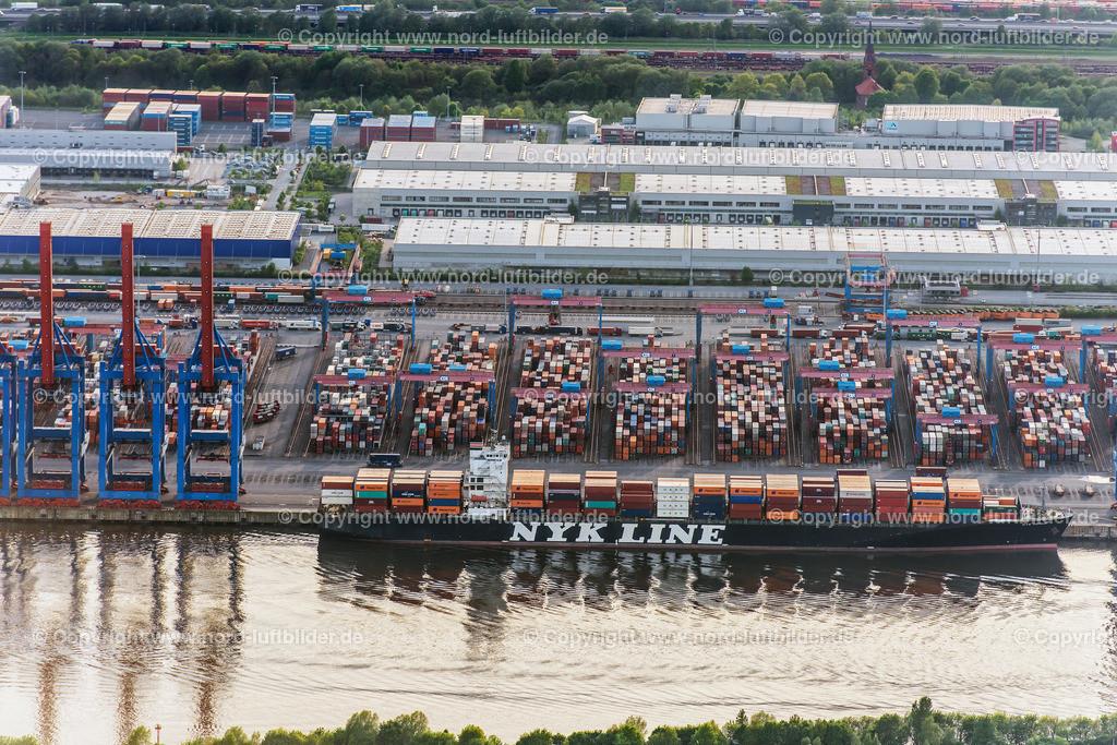 Hamburg Altenwerder CTA HHLA_ELS_1706150517 | Hamburg - Aufnahmedatum: 15.05.2017, Aufnahmehöhe: 455 m, Koordinaten: N53°30.416' - E9°58.611', Bildgröße: 6778 x  4523 Pixel - Copyright 2017 by Martin Elsen, Kontakt: Tel.: +49 157 74581206, E-Mail: info@schoenes-foto.de  Schlagwörter:Altenwerder,HHLA,CTA,Container Terminal,Container,Automatisiert,Luftbild, Luftbilder,