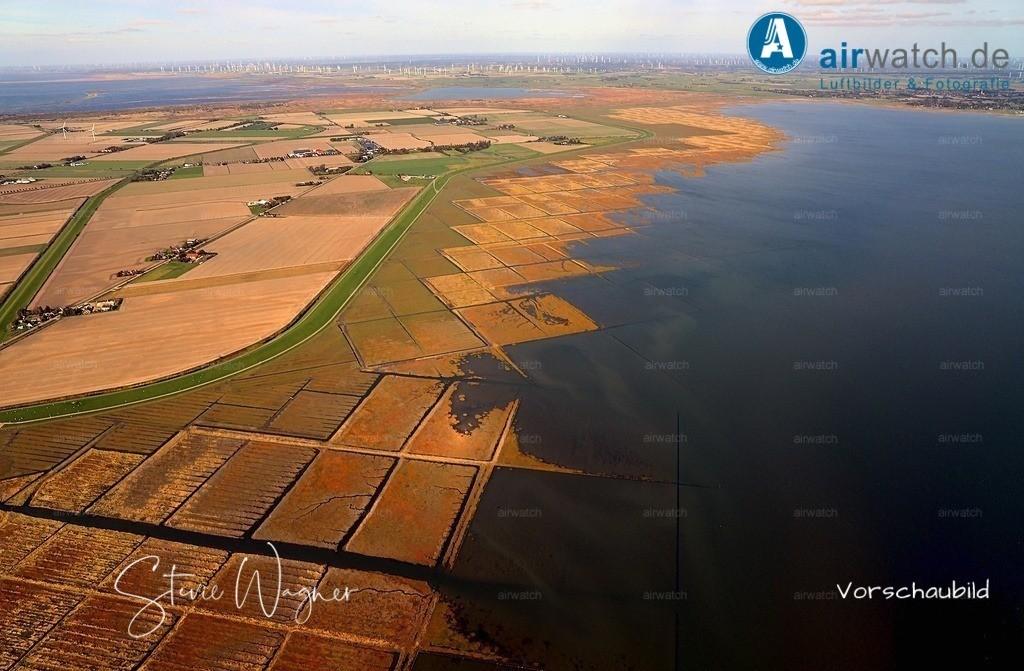 Luftbild Nordsee, Nordstrand, Hammchausee | Nordsee, Nordstrand, Hammchausee • max. 6240 x 4160 pix - Luftbild, Luftaufnahme, aerophoto, Luftbildfotografie, Luftbilder