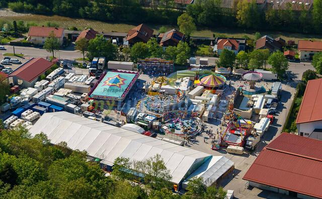 luftbild-traunstein-fruehligsfest-bruno-kapeller-27 | Luftaufnahme vom Traunsteiner Fruehlingsfest 2016