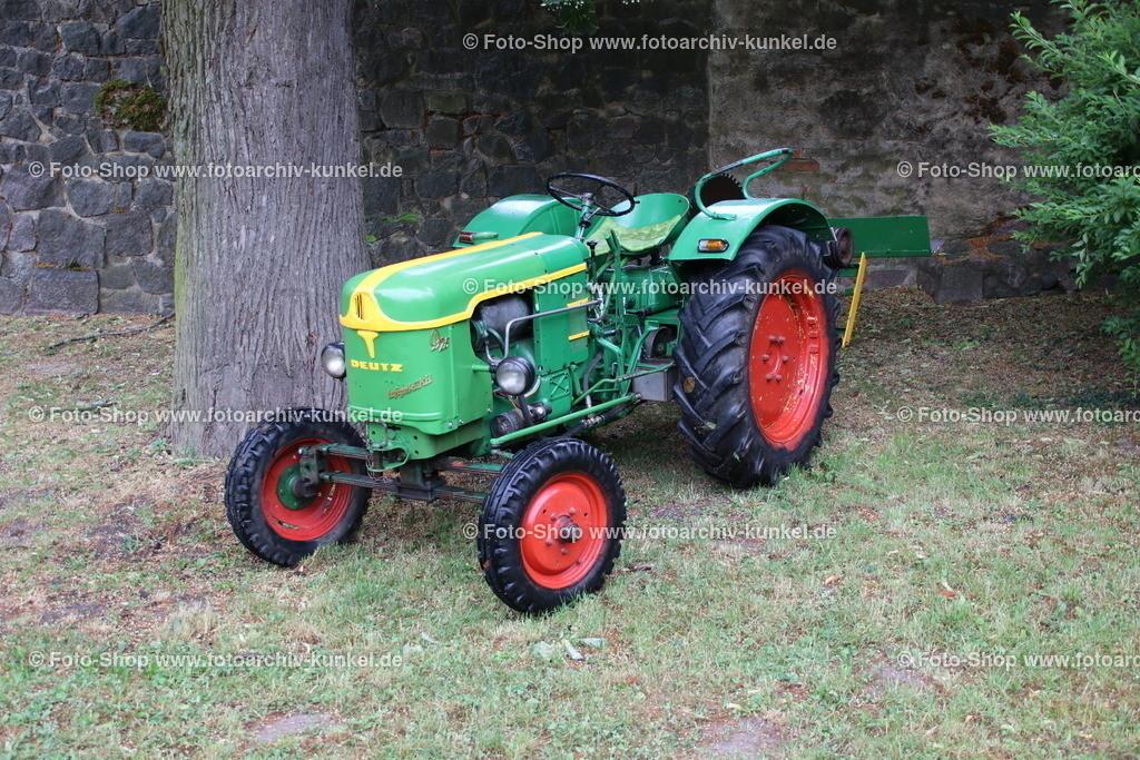 Deutz F2L 612/5-N Traktor, Schlepper, 1958   Deutz F2L 612/5-N Traktor, Schlepper, grün, Baujahr 1958, 1956-59, Baureihe FL 612, BRD, Deutschland