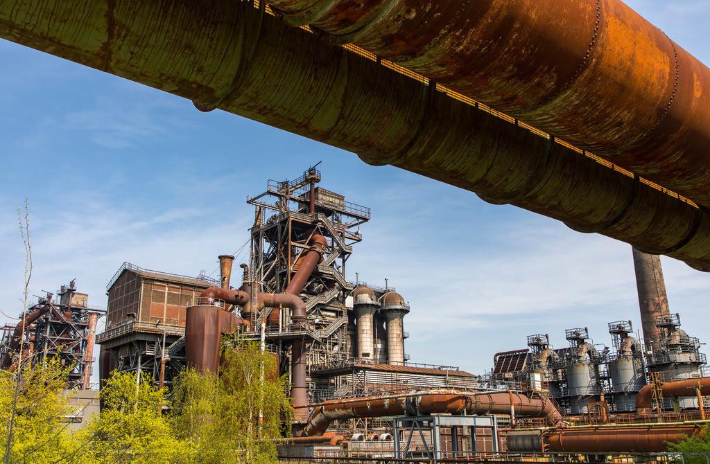 JT-180422-042 | Landschaftspark Duisburg, Nord, ehemaliges Hüttenwerk, in Duisburg Meidrich, Hochofen 5,