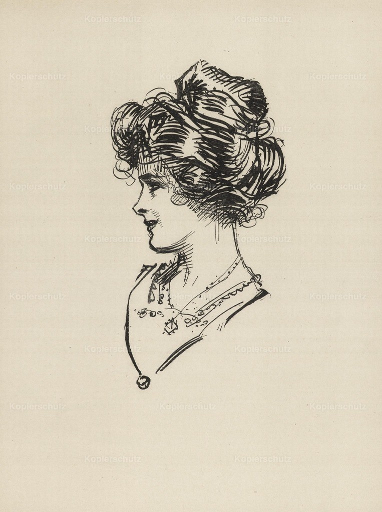 Gibson_ Charles Dana (1867-1944) - Gibson New Cartoons 1916 - Girl with necklace 3