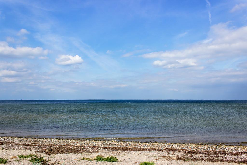 Strand in Habernis   Sandstrand in Habernis im Sommer