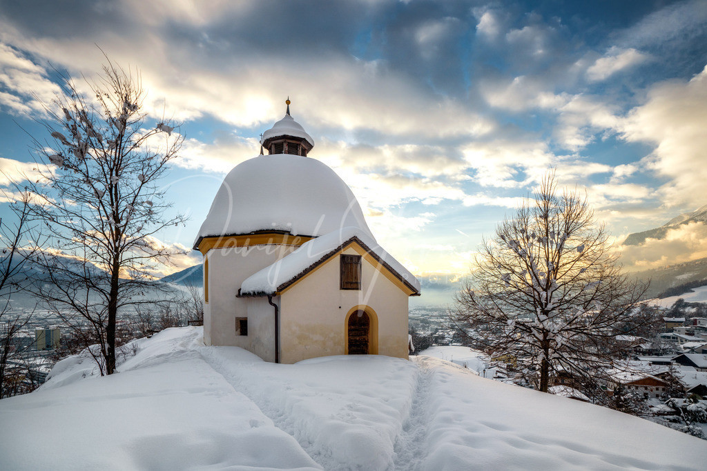 Kalvarienberg   Arzler Kalvarienberg im Winter