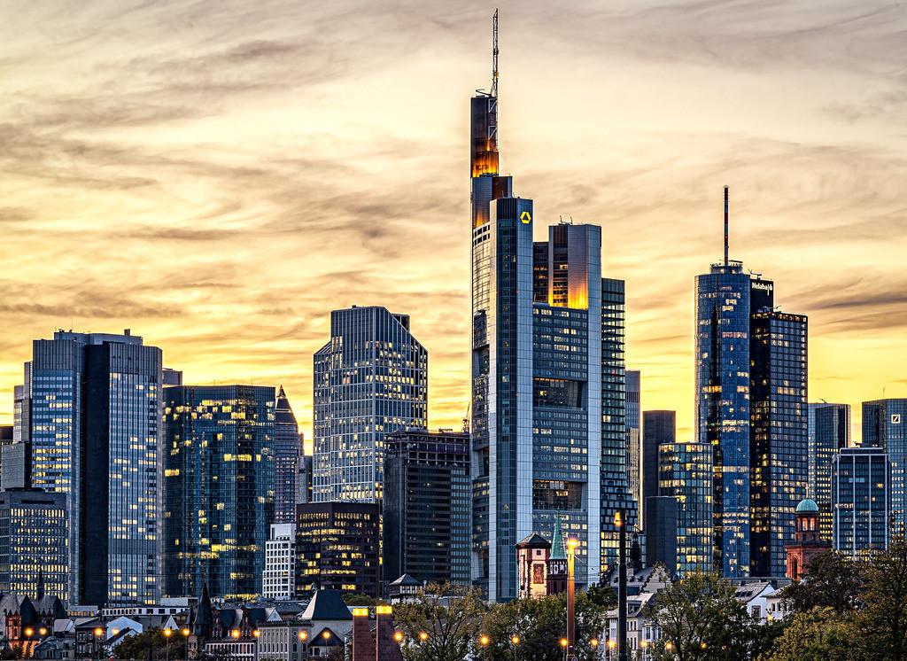 Skyline Frankfurt  | Banken