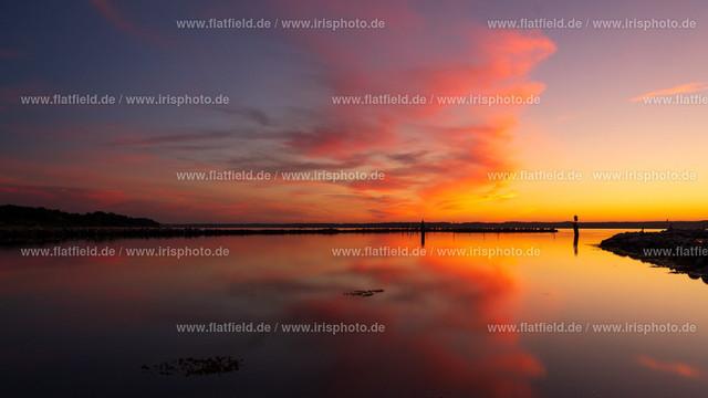 Sonnenuntergang auf Holnis C6 | Sonnenuntergang auf Holnis an der Ostsee