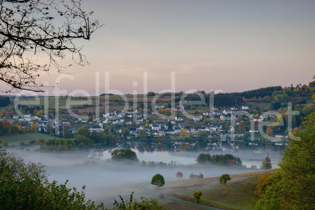 mystische Morgenstimmung in Schalkenmehren | Daun Schalkenmehren, Vulkaneifel