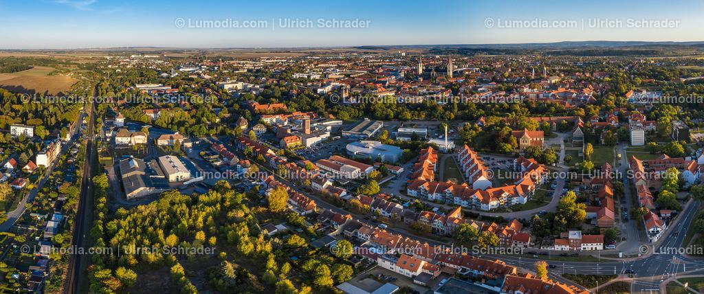 10049-50782 - Halberstadt im Abendlicht | max. Auflösung 9370 x 3913