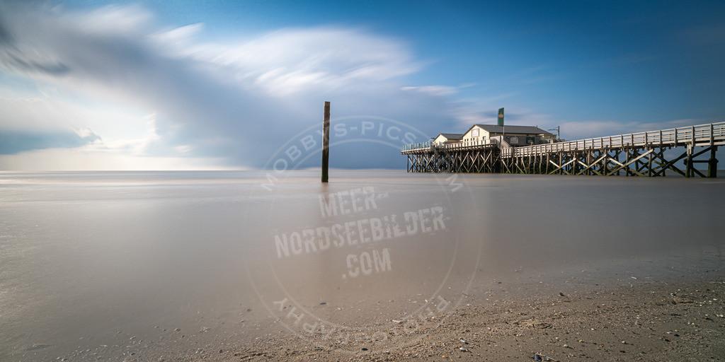 _MGB0566 | Langzeitbelichtung am Strand von St. Peter-Ording