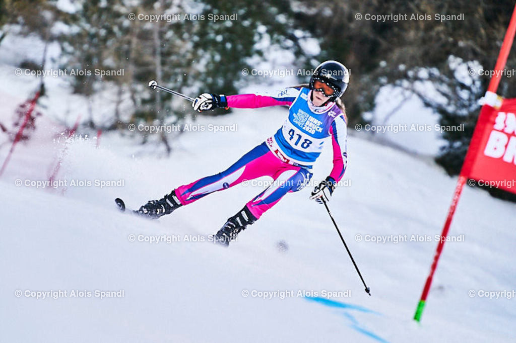ALS5780_WWMG_GS-II_C | (C) FotoLois.com, Alois Spandl, WinterWorldMastersGames 2020 Innsbruck, Giant Slalom-II Gruppe C Damen, Patscherkofel Olympiaabfahrt, Mi 15. Jänner 2020.