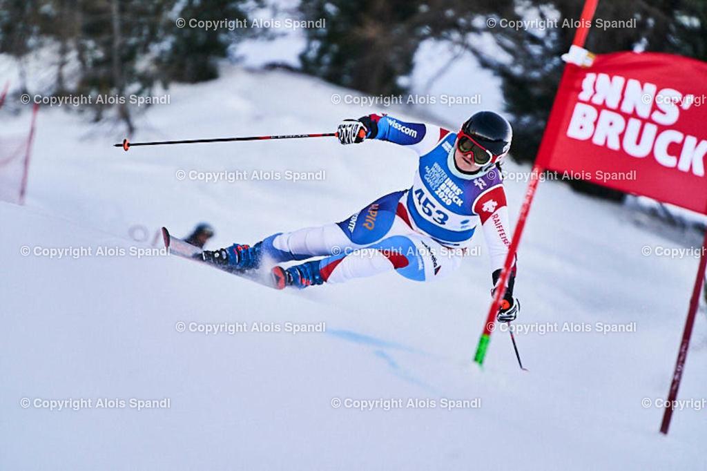 ALS5946_WWMG_GS-II_C | (C) FotoLois.com, Alois Spandl, WinterWorldMastersGames 2020 Innsbruck, Giant Slalom-II Gruppe C Damen, Patscherkofel Olympiaabfahrt, Mi 15. Jänner 2020.