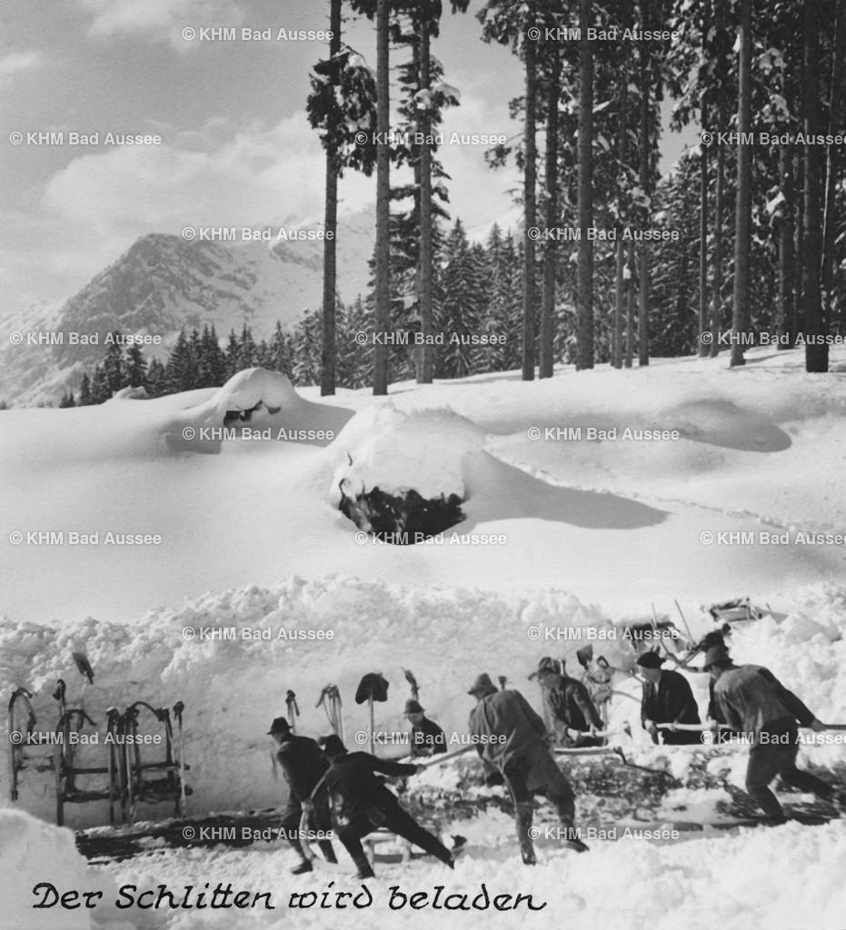 Holzknechte_Winter_03 | Holztransport im Winter 4