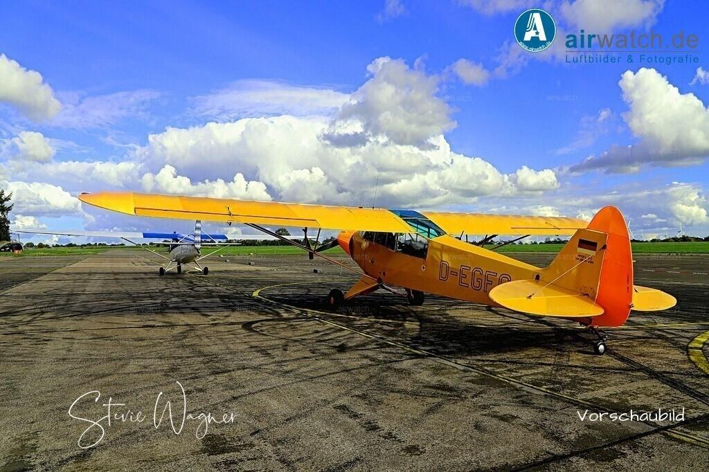Flughafen Husum, Piper L 18   Flughafen Husum, Piper L 18 • max. 6240 x 4160 pix