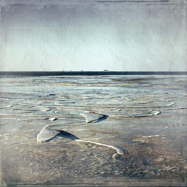 Eisschollen im Winter