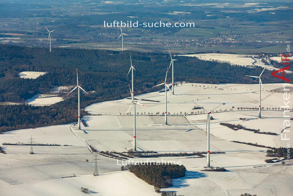 windpark-kirchleus-19-204 | aktuelles Luftbild von Windpark Kirchleus  - Luftaufnahme wurde 2019 von https://frankenair.de mittels Flugzeug (keine Drohne) erstellt.