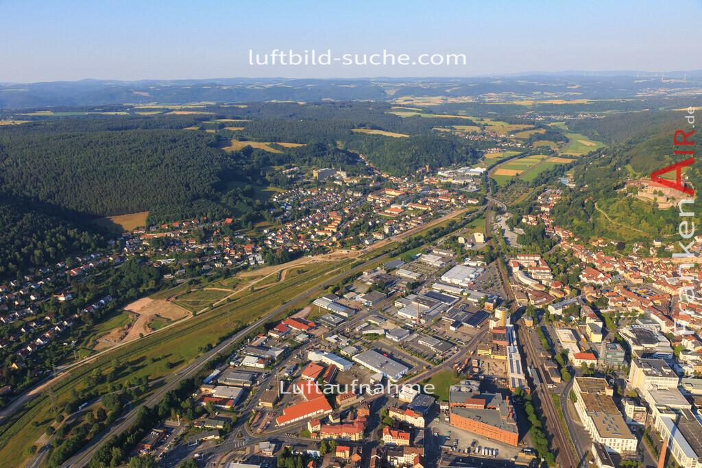 kulmbach-2015-1796 | Luftbild von  Kulmbach - Luftaufnahme wurde 2015 von https://frankenair.de mittels Flugzeug (keine Drohne) erstellt - die Geschenkidee