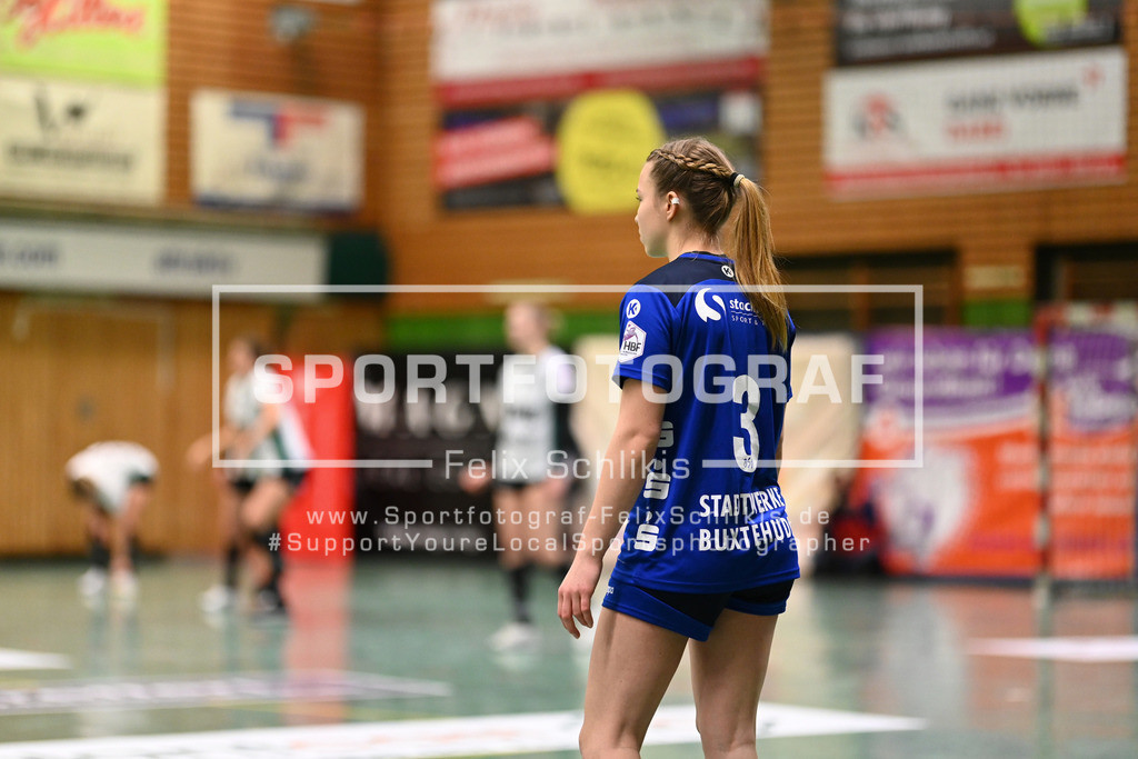 Handball I 1. HBF I 14. Spieltag I Buxtehuder SV - VfL Oldenburg I 09.01.2021_150 | Mailee Winterberg (#3, Buxtehuder Sportverein)