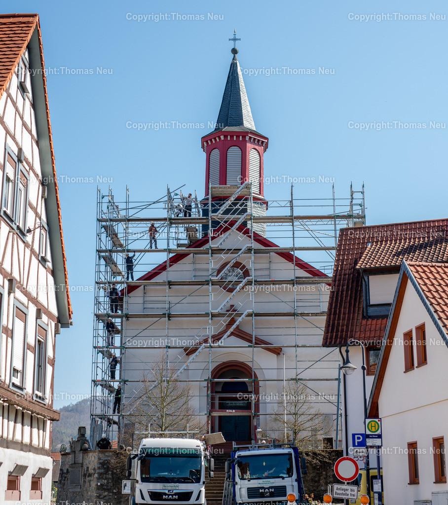 DSC_6984 | Bensheim, Gronau, Baustellen , Kirche und Straße, ,, Bild: Thomas Neu