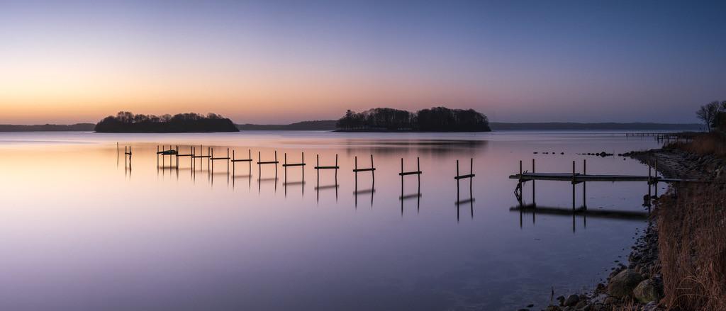 Clear Calm | Morgendämmerung an den Ochseninseln in der Flensburger Förde