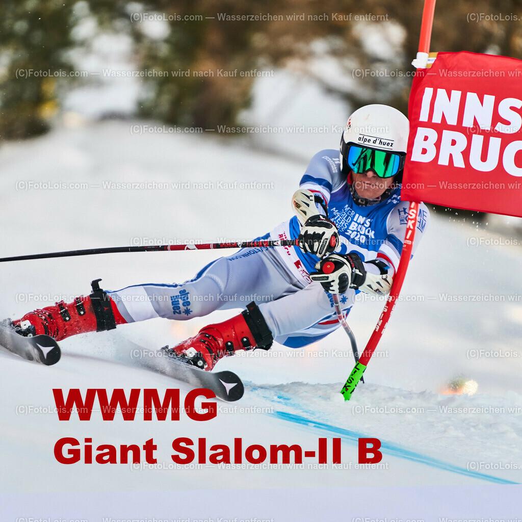 ALS0000_WWMG_Innsbruck_6020_GS-II-B_15x15 | (C) FotoLois.com, Alois Spandl, WinterWorldMastersGames 2020 Innsbruck, WWMG-Race Gruppe A, Patscherkofel Olympiaabfahrt, Sa 11. Jänner 2020