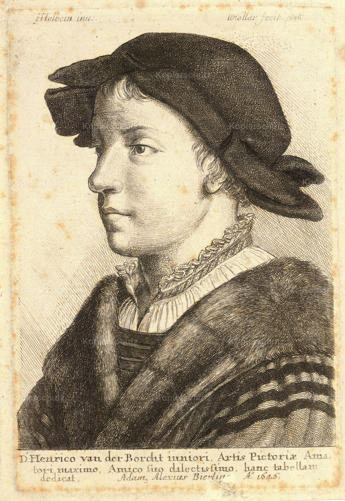 Wenceslas_Hollar_-_Young_Man__after_Holbein