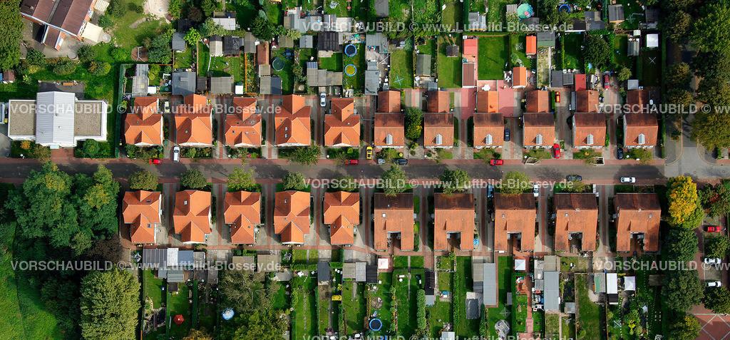 ES10098591 | Bergbausiedlung Boshamerweg, Essen-Karnap,  Essen, Ruhrgebiet, Nordrhein-Westfalen, Germany, Europa