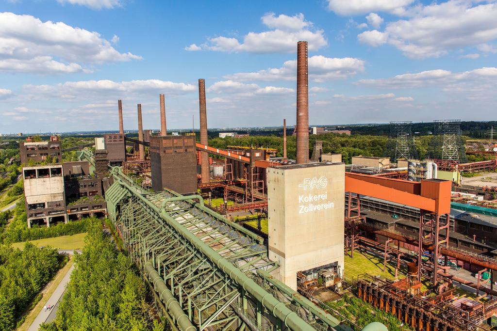 JT-140702-055   Welterbe Zeche Zollverein, Kokerei Zollverein,