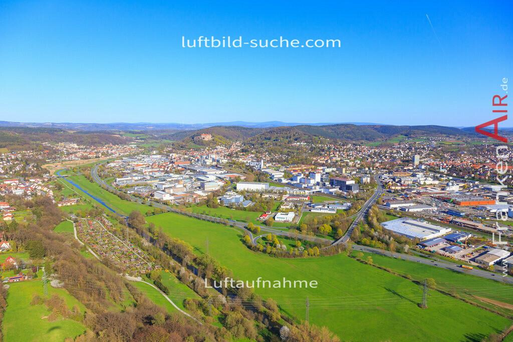 burghaig-kulmbach-2016-2046 | Luftbild von Burghaig Kulmbach - Luftaufnahme wurde 2016 von https://frankenair.de mittels Flugzeug (keine Drohne) erstellt - die Geschenkidee