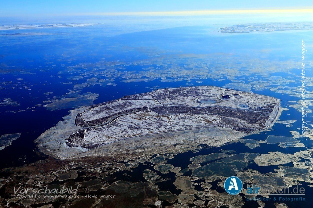 Winter Luftbilder, Nordsee, Nordfriesland, Hallig Groede   Winter Luftbilder, Nordsee, Nordfriesland, Hallig Groede