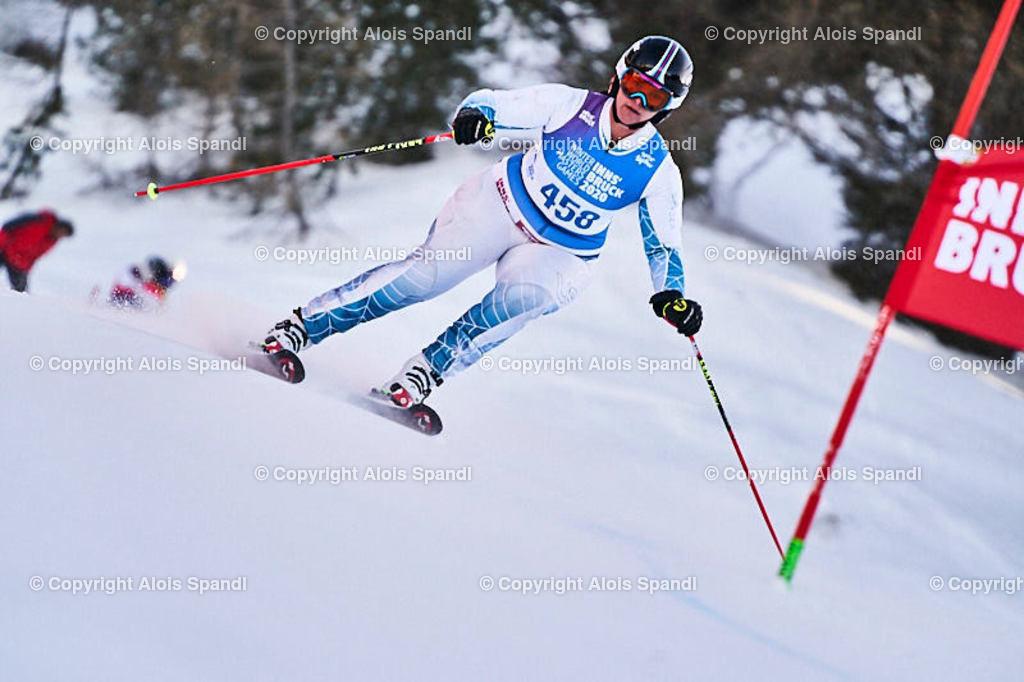 ALS5971_WWMG_GS-II_C   (C) FotoLois.com, Alois Spandl, WinterWorldMastersGames 2020 Innsbruck, Giant Slalom-II Gruppe C Damen, Patscherkofel Olympiaabfahrt, Mi 15. Jänner 2020.