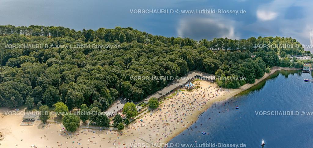 Haltern13081683 | Badesee, Halterner Stausee, Halterner See mit Seebad und Seeterasse, Luftbild von Haltern am See