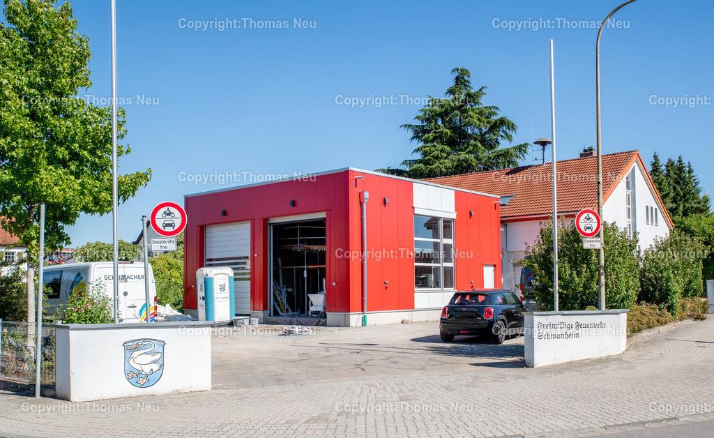 DSC_9958 | Bensheim,bbe,Stadtteil Schwanheim, ,Feuerwehrhaus neuer Anbau, umstrittenes Proojekt, , Bild: Thomas Neu