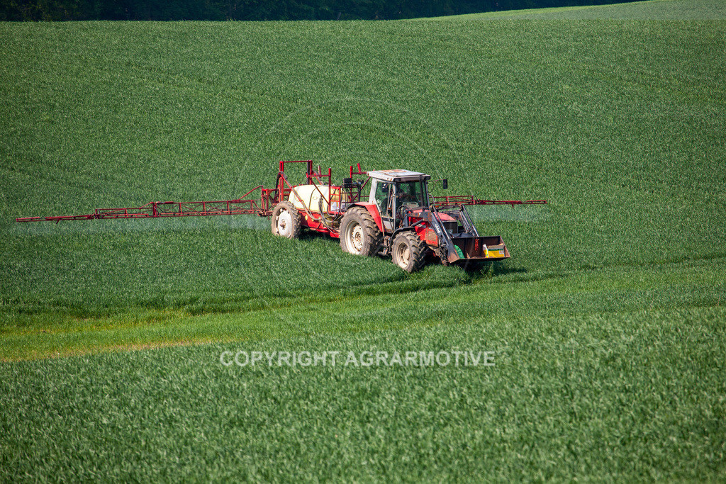 20130516-_MG_9785 | Feldspritze im Weizenfeld - AGRAFOTO Bildagentur