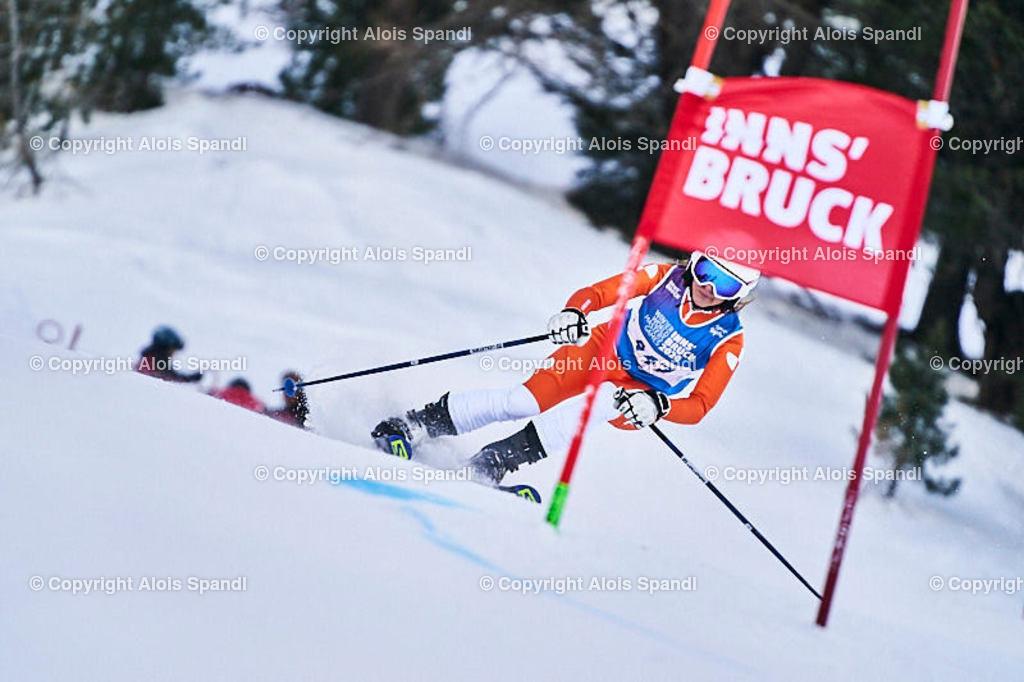 ALS5903_WWMG_GS-II_C | (C) FotoLois.com, Alois Spandl, WinterWorldMastersGames 2020 Innsbruck, Giant Slalom-II Gruppe C Damen, Patscherkofel Olympiaabfahrt, Mi 15. Jänner 2020.