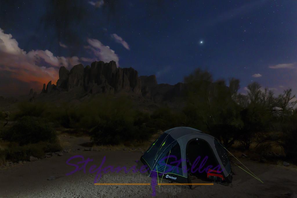 Campen unterm Sternenzelt