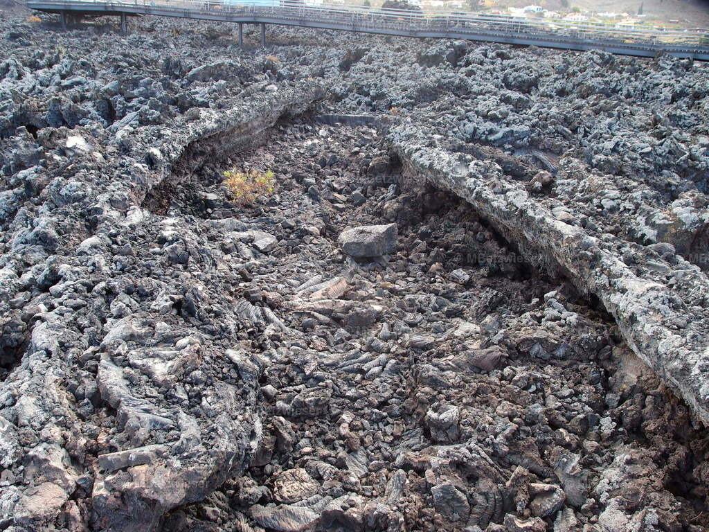 P4155141 | Eingestürzte Lavatube am San Juan