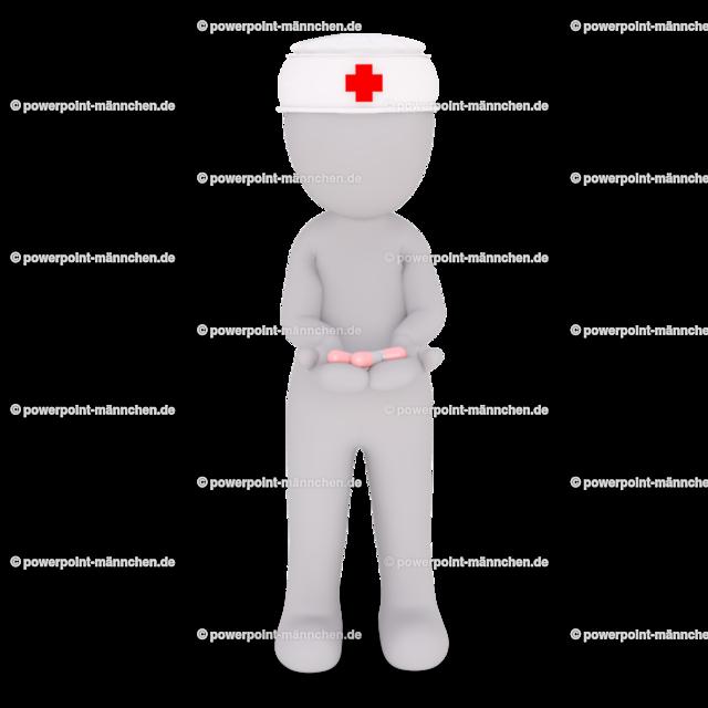 nurse with medicine pills for the customers | Quelle: https://3dman.eu   Jetzt 250 Bilder kostenlos sichern
