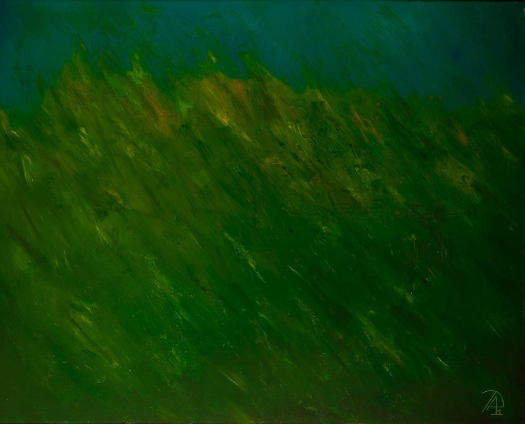 Die Lagune | Originalformat: 80x100cm  -   Produktionsjahr: 2011