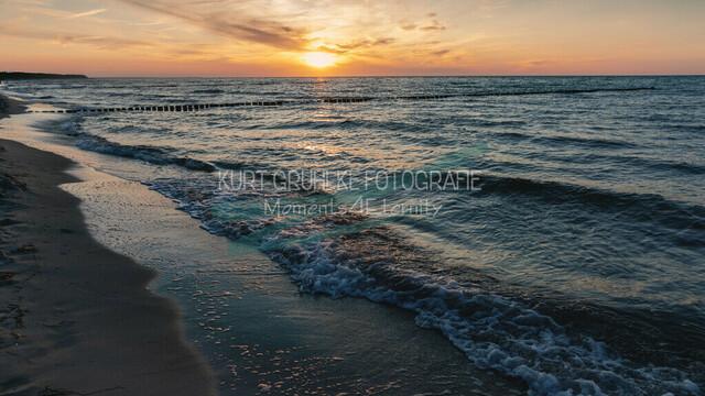 Ostsee, Sonnenuntergang