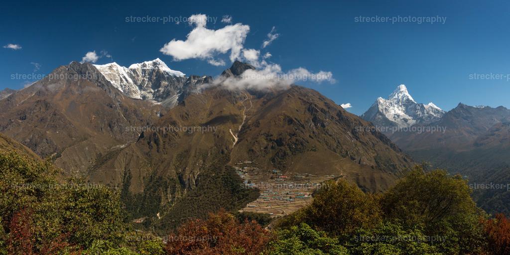Mt Tobuche Phortse Ama Dablam Nepal | Mt Tobuche, Phortse, Ama Dablam, Himalaya, Nepal