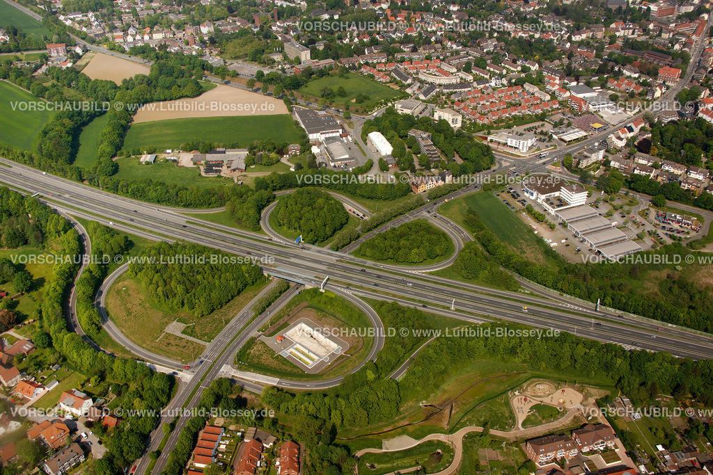 RE11046253 | Autobahnkreuz, Recklinghausen Herten, A43, Hochlar, ,  Recklinghausen, Ruhrgebiet, Nordrhein-Westfalen, Germany, Europa