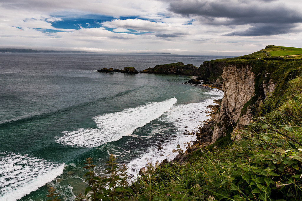 Ireland-Ballintoy Coastview