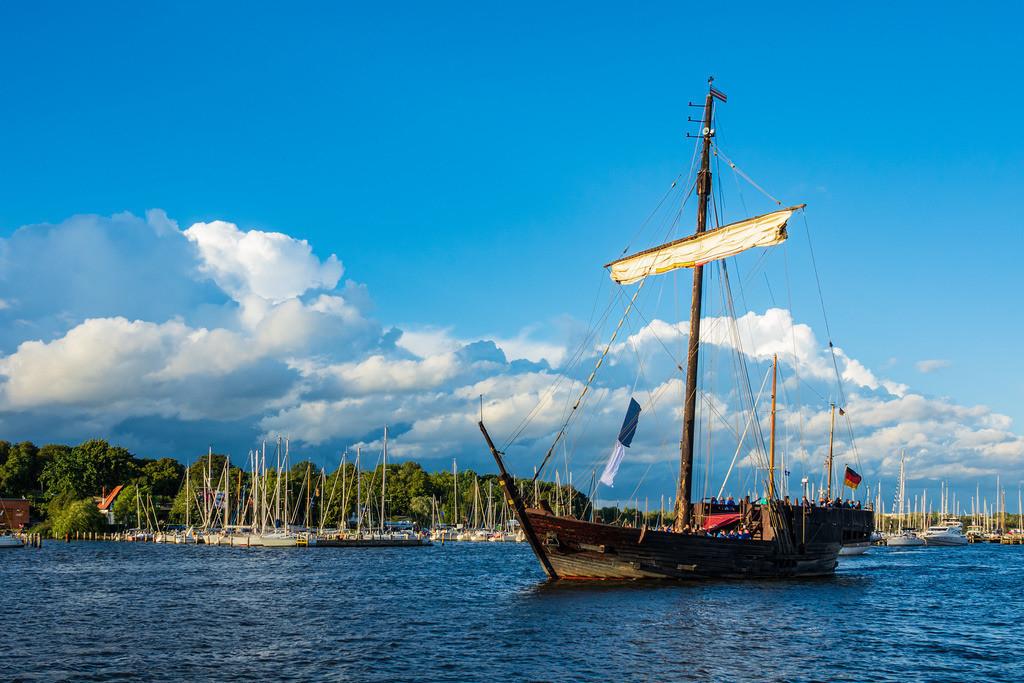 Segelschiffe auf der Hanse Sail in Rostock | Segelschiffe auf der Hanse Sail in Rostock.